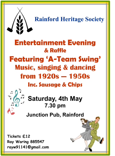 Swing Event Poster